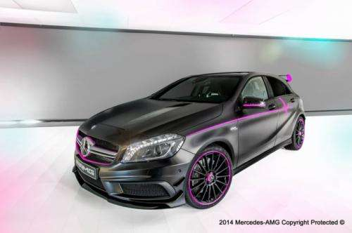 Mercedes A45 AMG Erika by AMG Performance Studio Foto: Mercedes Benz