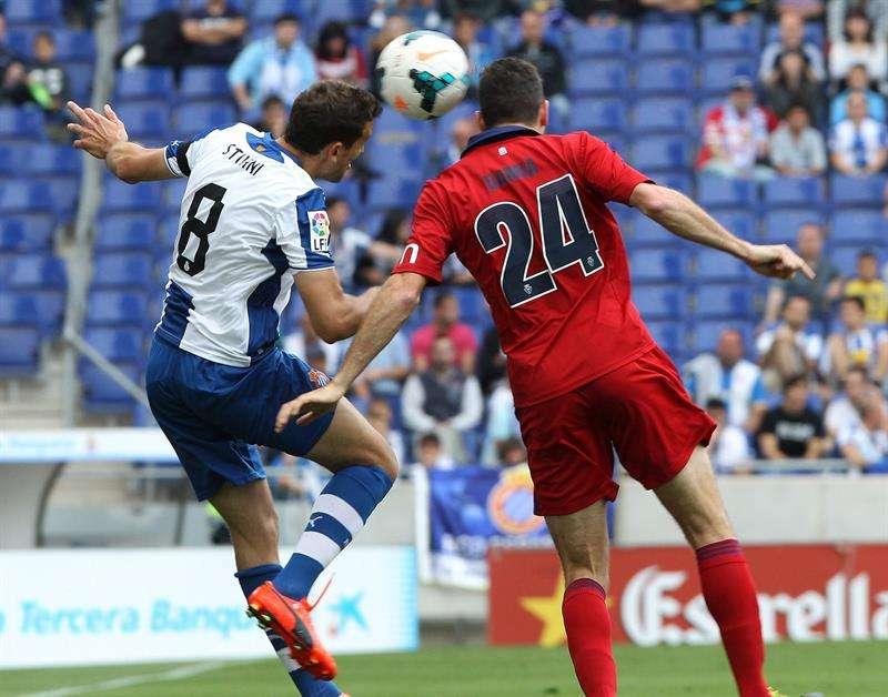 El Espanyol se salva y deja muy tocado a Osasuna (1-1)