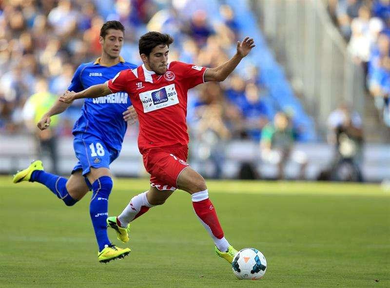 El Getafe se agarra a la vida ante un Sevilla abstraído: 1-0