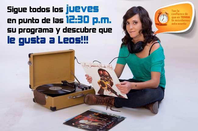 Leonora Mlán te espera todos los jueves a las 12:30 en vivo por Terra Foto: Facebook