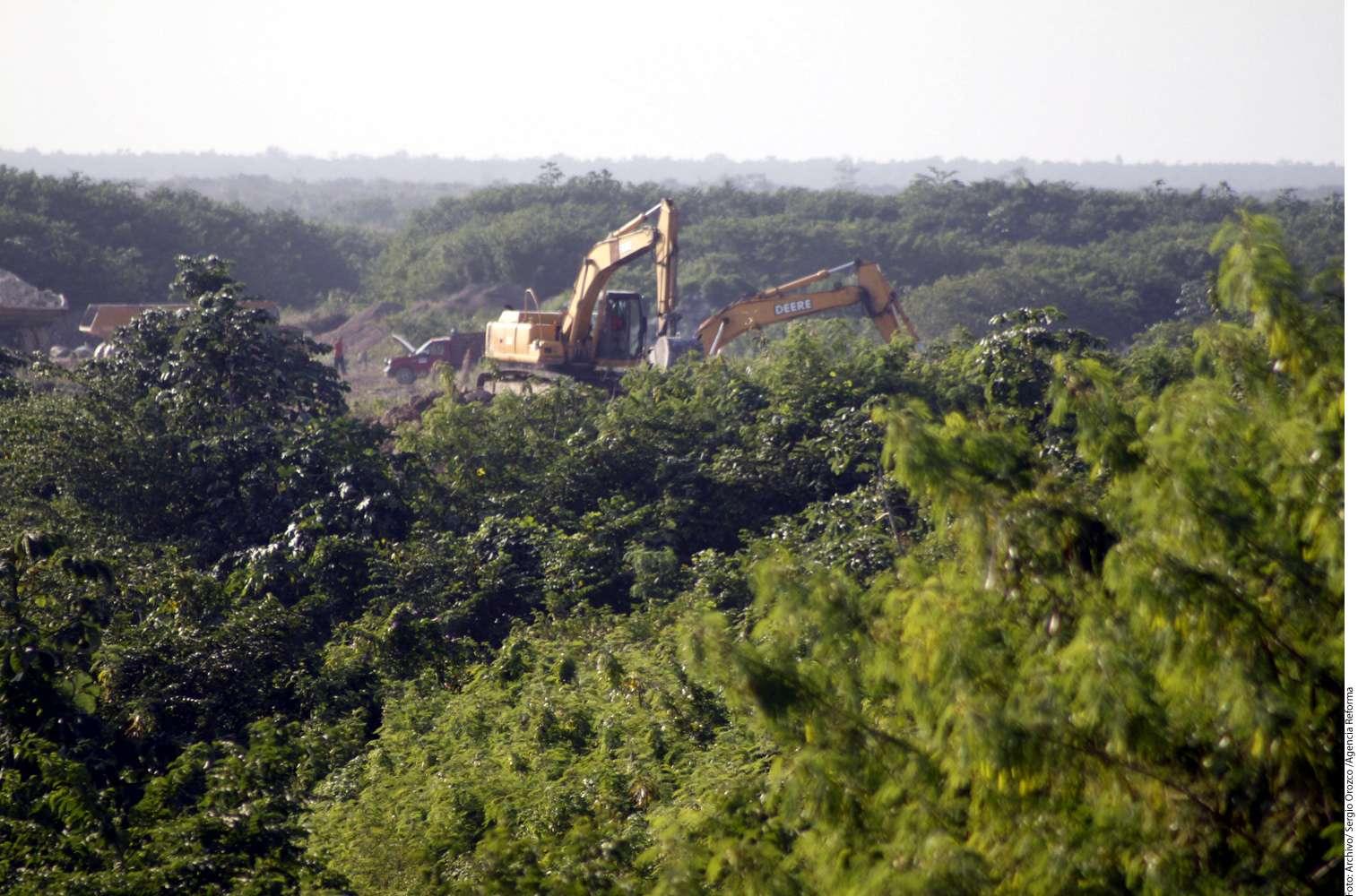 Dragon Mart se contruye en un terreno denominado El Tucán. Foto: Reforma