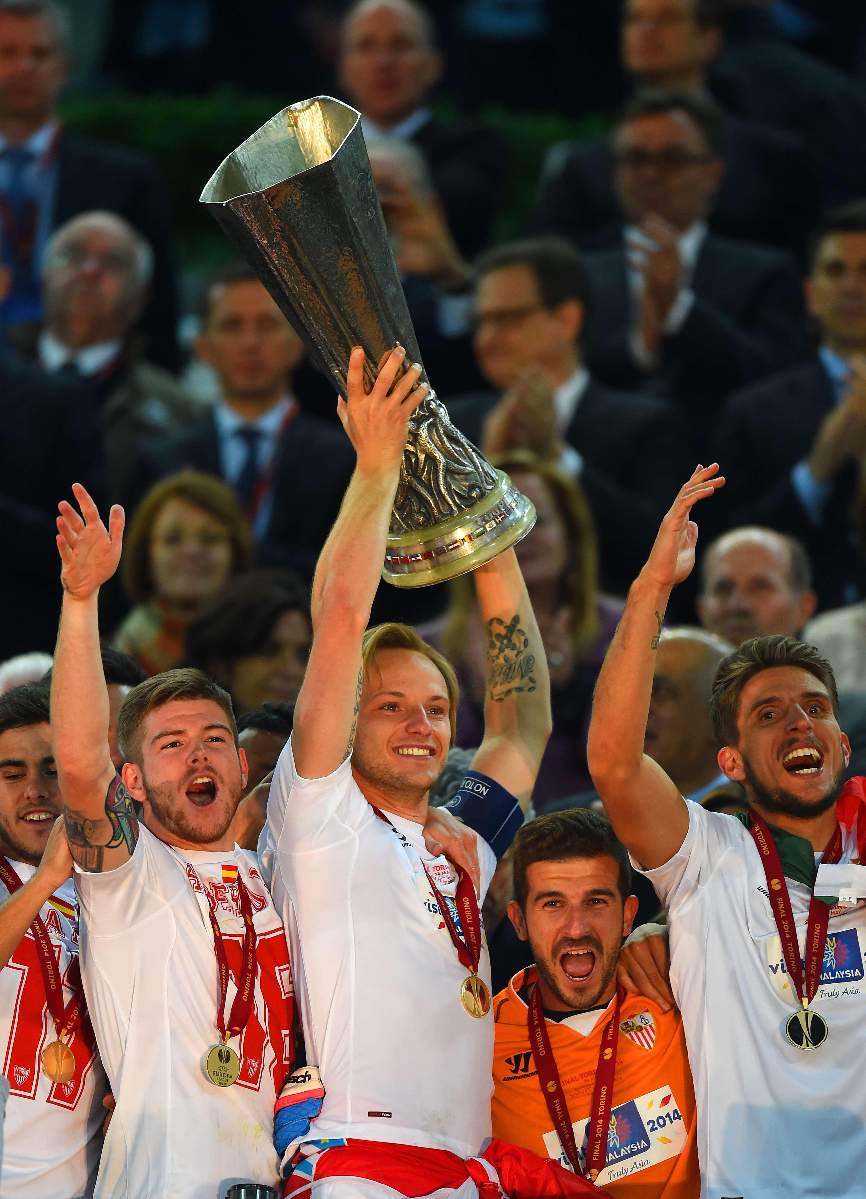 Rakitic, mejor jugador de la final de la Europa League