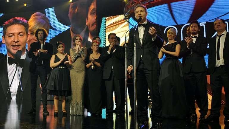 Farsantes, gran ganador de la noche Foto: Web
