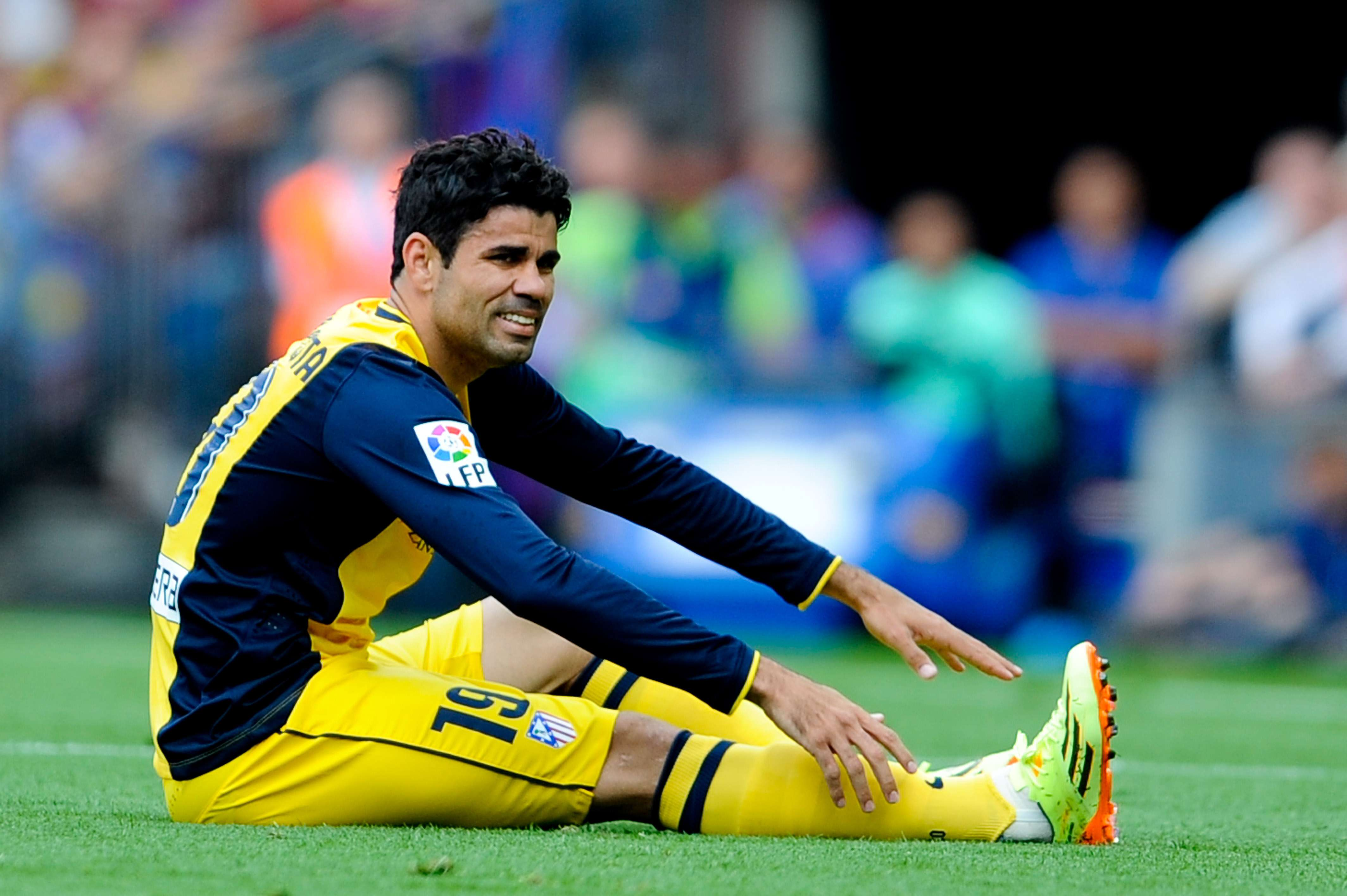 Costa sufre lesión y peligra presencia en final de Champions