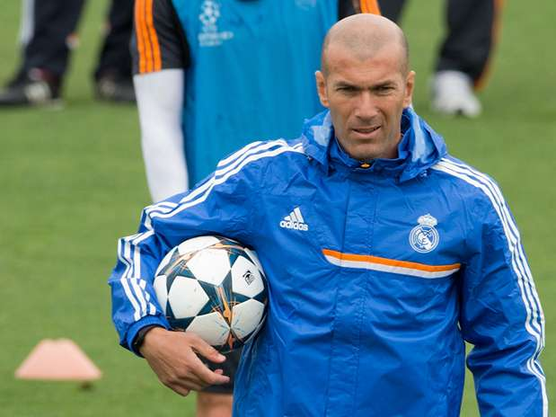 Zinedine Zidane, segundo entrenador del Real Madrid Foto: Getty Images