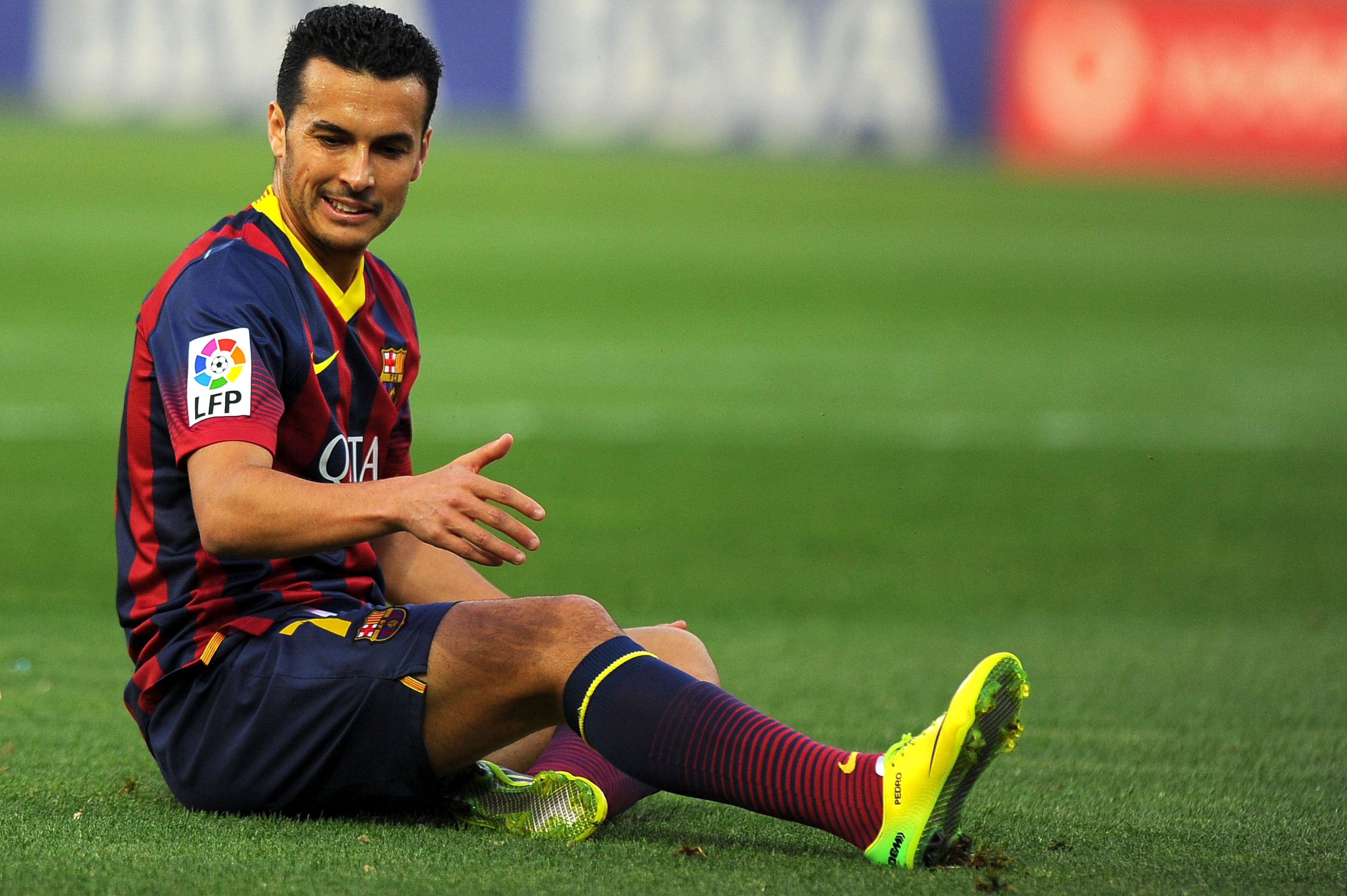 Pedro: Liverpool is hoping to add more speed to its wingers by adding the Barcelona player. Foto: Getty Images
