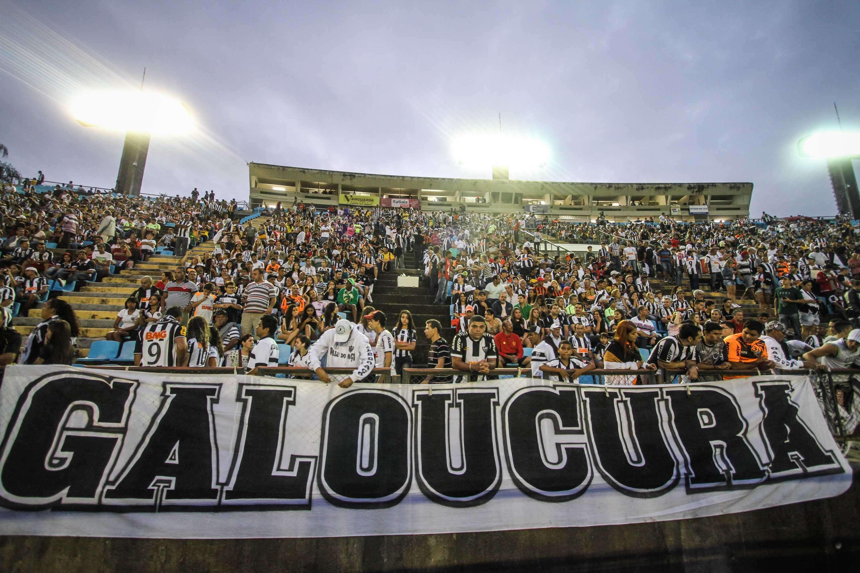 Torcida do Atlético-MG compareceu em bom número ao Ipatingão Foto: Bruno Cantini/Atlético-MG/Divulgação