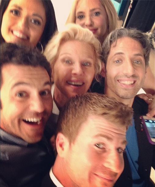 Fred Savage posta foto com elenco de 'Anos Incríveis' Foto: Instagram/Reprodução