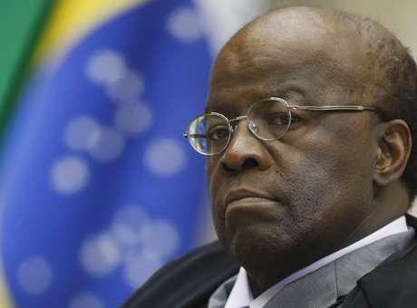 O presidente do Supremo Tribunal Federal (STF), ministro Joaquim Barbosa, ganhou destaque no País desde 2012, ao atuar como relator do processo do mensalão do PT Foto: Nelson Jr. / SCO / STF/Divulgação