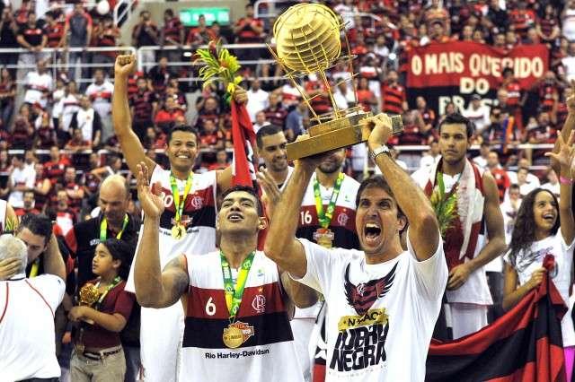 Atual campeão do NBB, Flamengo pode jogar contra uma das equipes do melhor basquete do mundo Foto: LNB/Divulgação