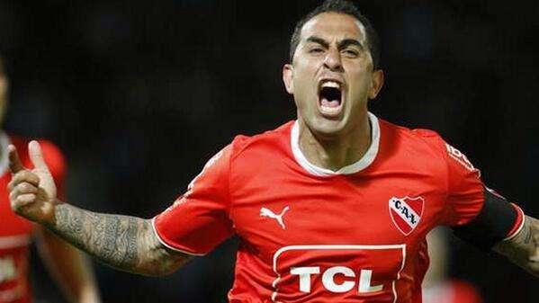 Montenegro fue clave para Independiente Foto: Web.