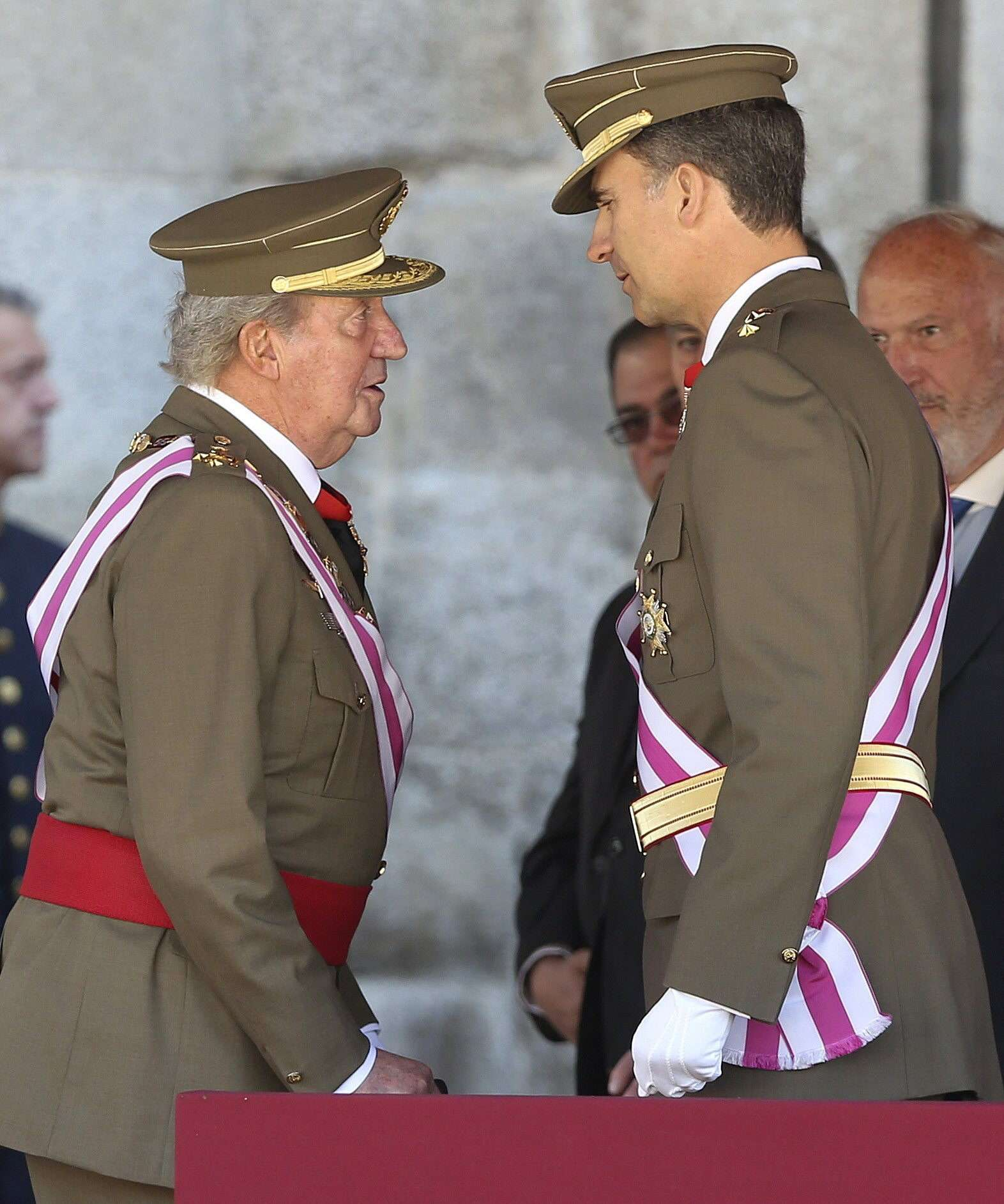 El Rey y el Príncipe Foto: EFE en español