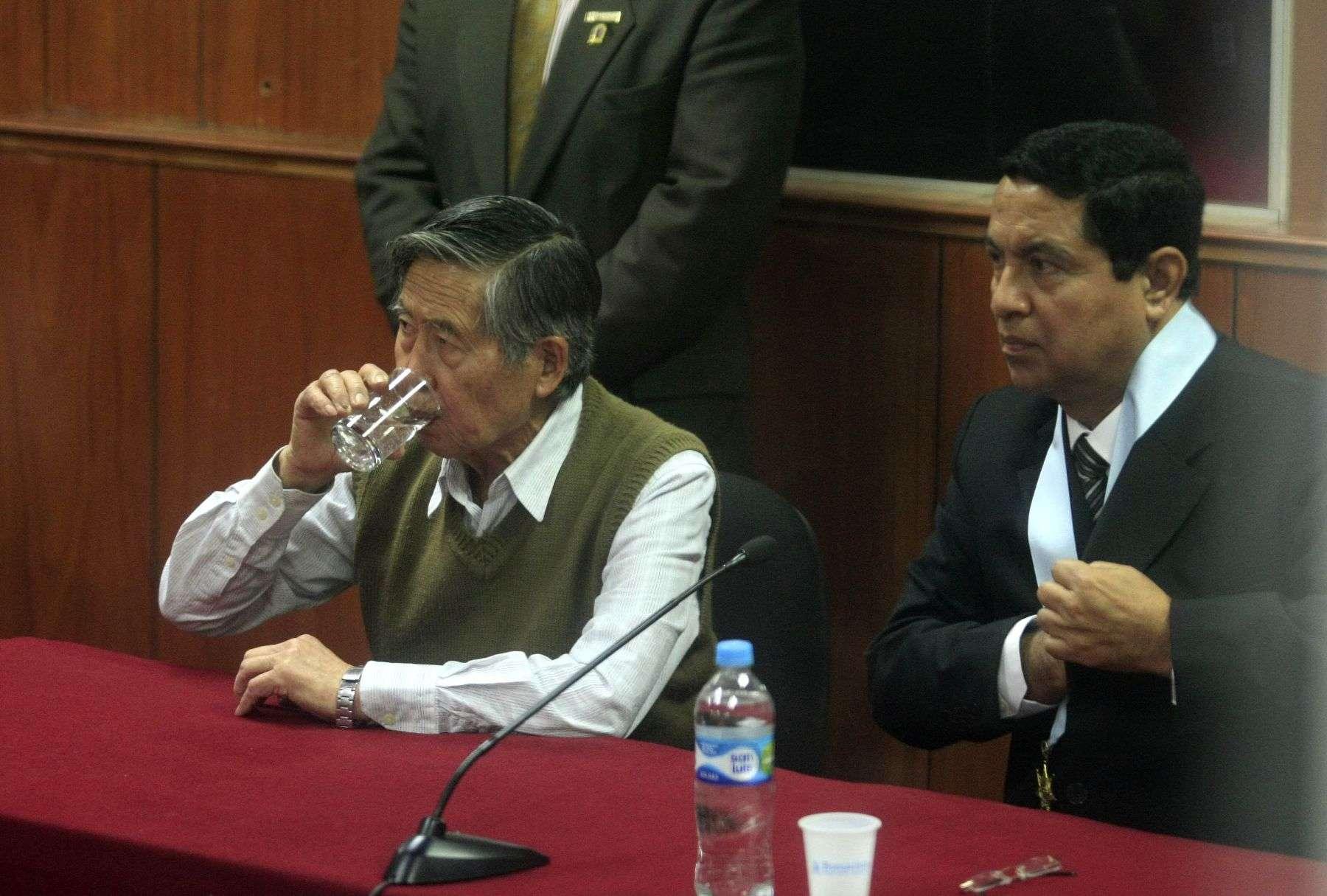 Abogado de Alberto Fujimori insistirá con solicitar la pensión de su defendido. Foto: Andina