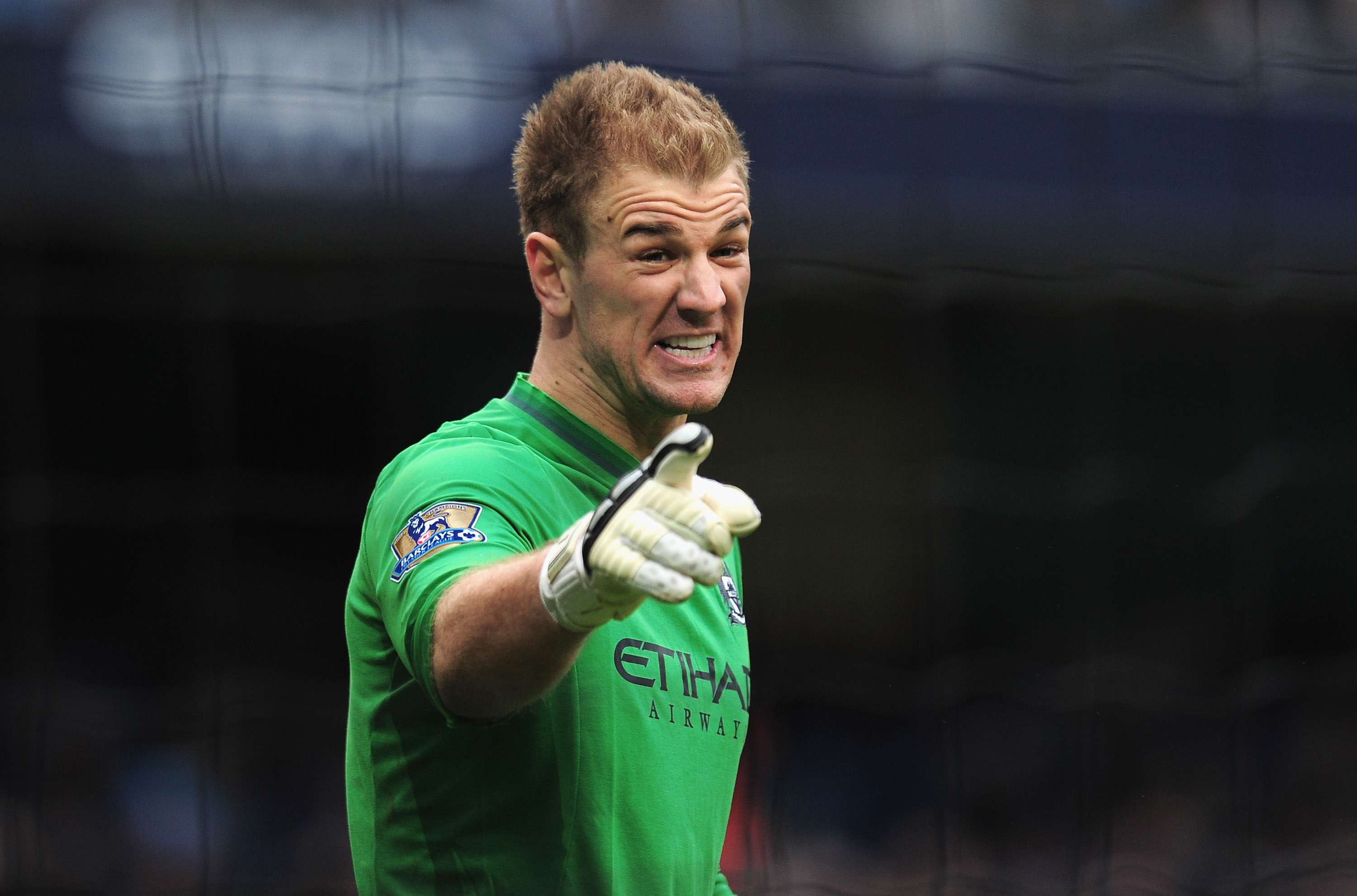 JOE HART: In 26-year-old Joe Hart, England coach Roy Hodgson has a more reliable stopper between the posts, despite mishaps seeing him dropped by Manchester City for a time this season. The blunders were uncharacteristic for one of England's most reliable performers at Euro 2012, but Hart went on to help City win the Premier League. Foto: Getty Images