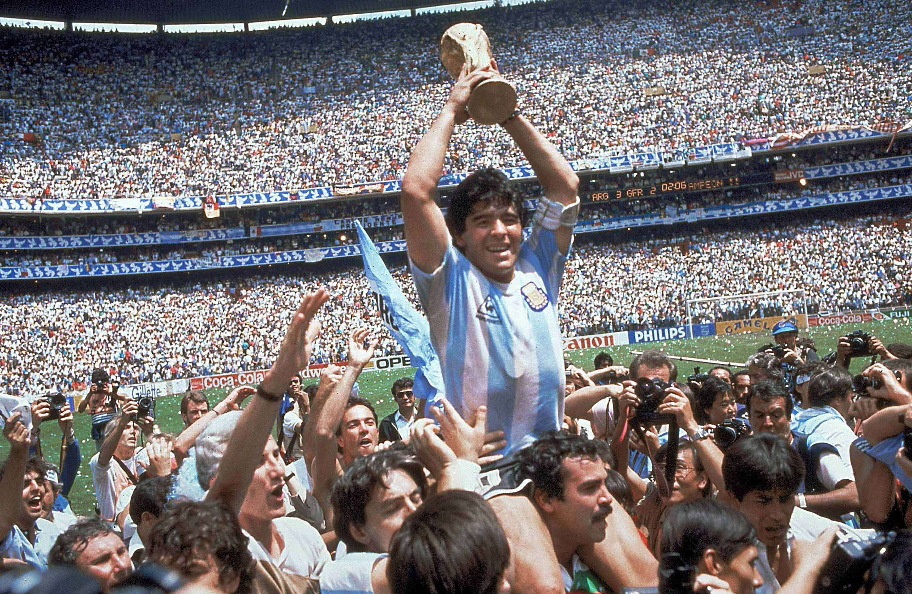 History of Argentina, Germany in World Cup finals
