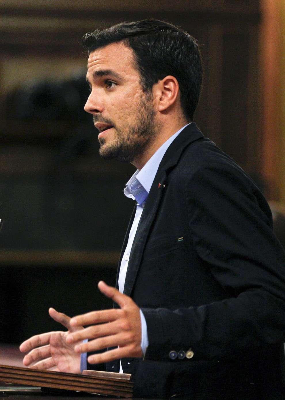 Alberto Garzón. Foto: EFE