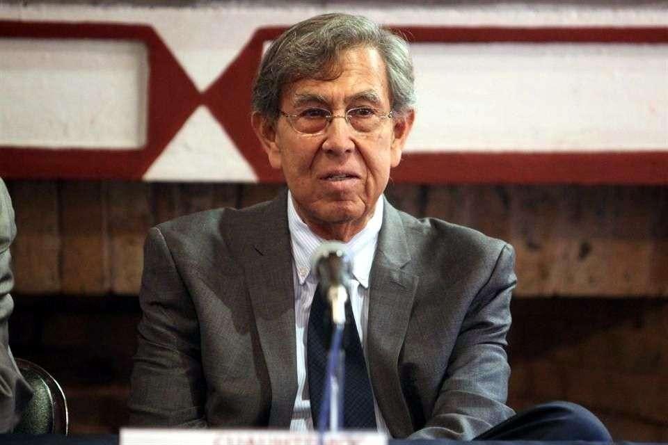 Cuauhtémoc Cárdenas impartió una conferencia sobre las reformas constitucionales que se han aprobado en el país Foto: Reforma/Gabriel Jiménez
