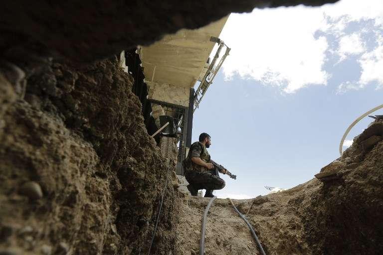 Conoce los túneles donde Siria vive su verdadera guerra