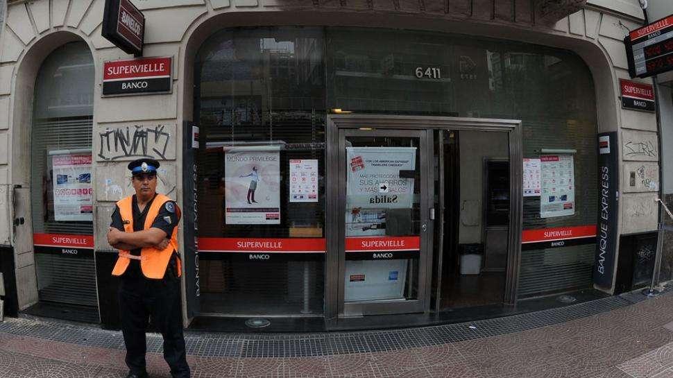 Paro de bancos Foto: Web