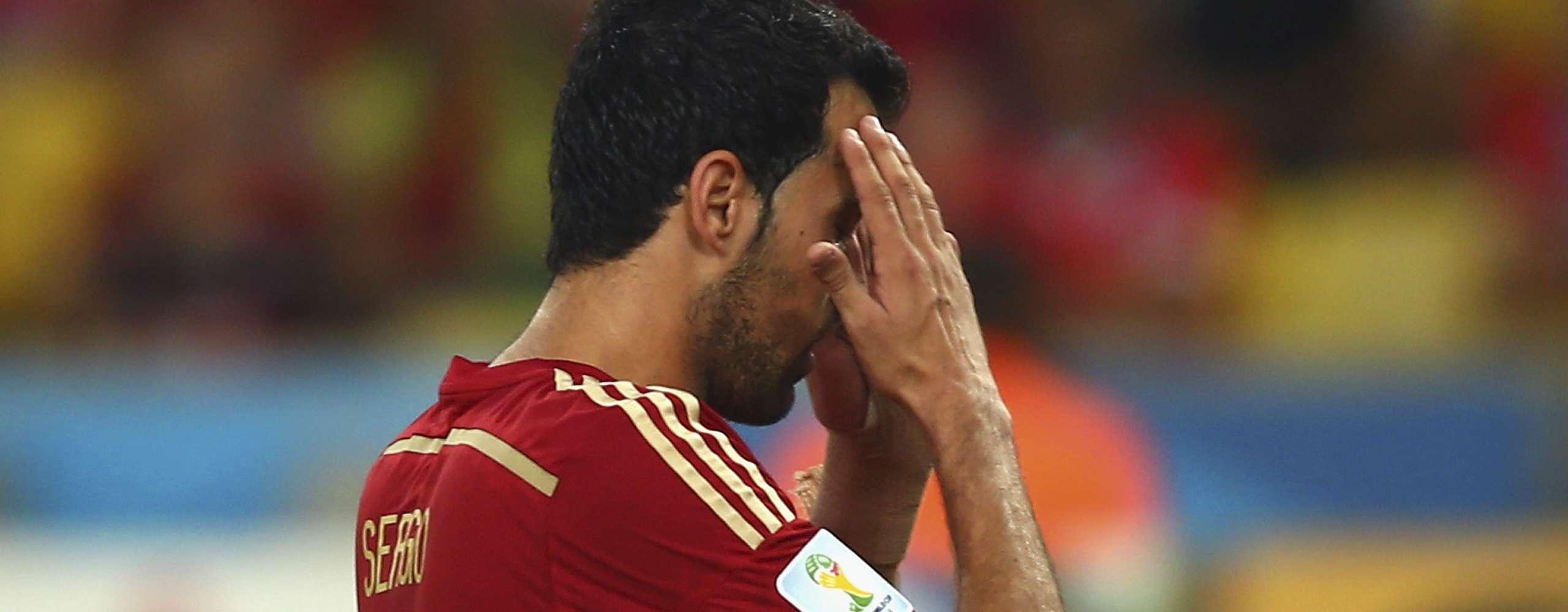 El adiós al Mundial en las caras de los jugadores de España
