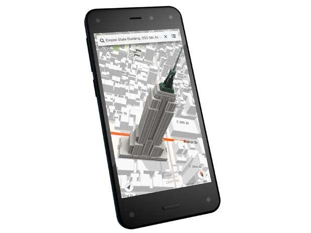 Fire Phone, el teléfono de Amazon. Foto: Amazon