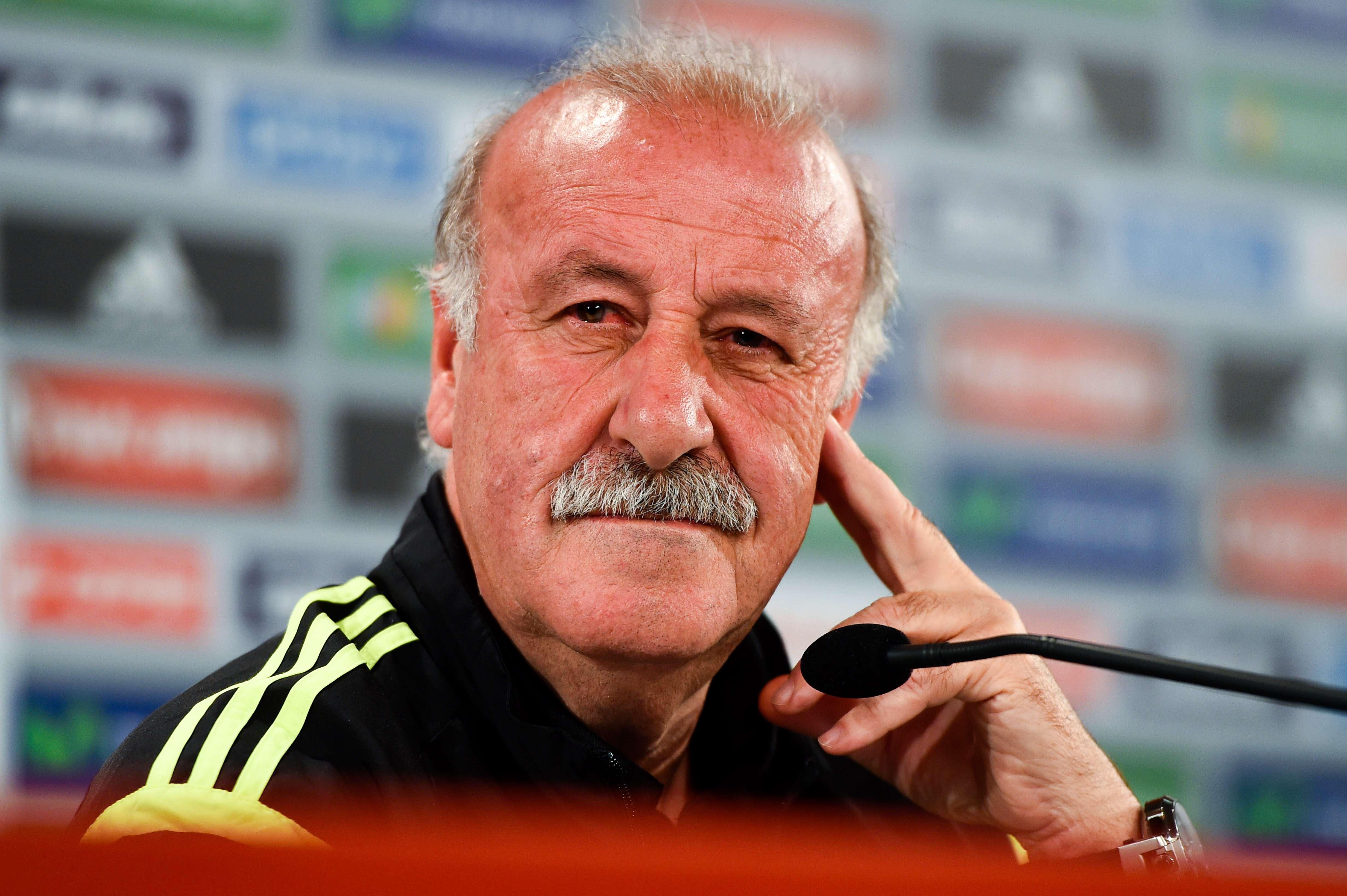 """Del Bosque: """"Si fuese incómodo para nuestro fútbol, me iré"""""""