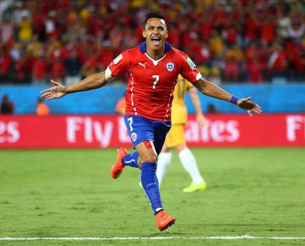 Alexis interesa a su vez al Liverpool. Foto: AFP