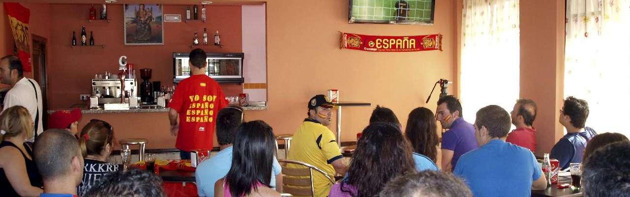 Revés hostelero por culpa de la selección española