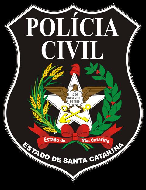 Brasão da Polícia Civil do Estado de Santa Catarina Foto: Divulgação
