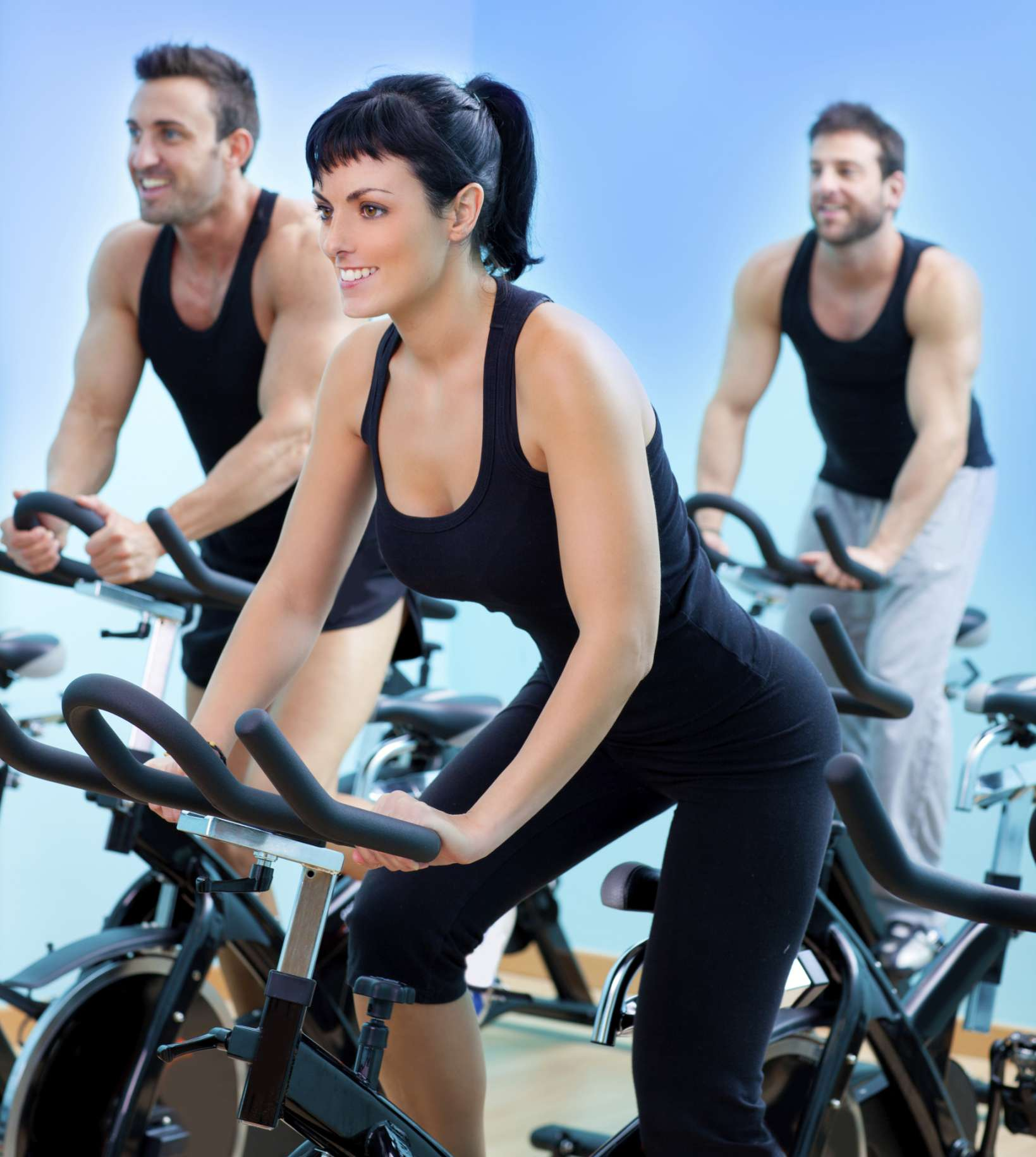 bicicleta, ciclismo, mujer, ejercicio, salud Foto: Thinkstock