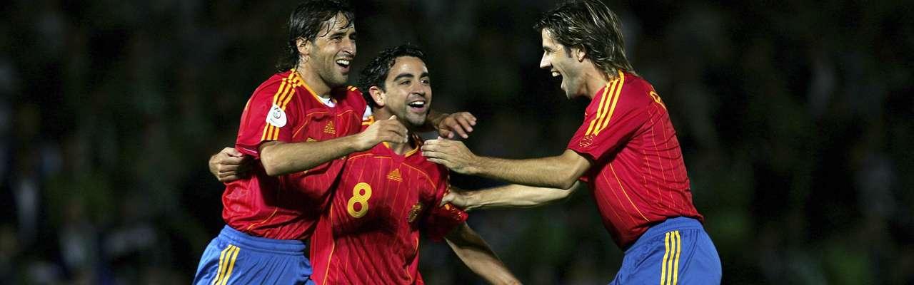 Xavi recogió el testigo de Raúl y Albelda. Foto: Getty Images