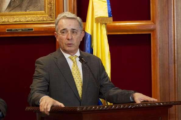 Álvaro Uribe Vélez Foto: Getty Images