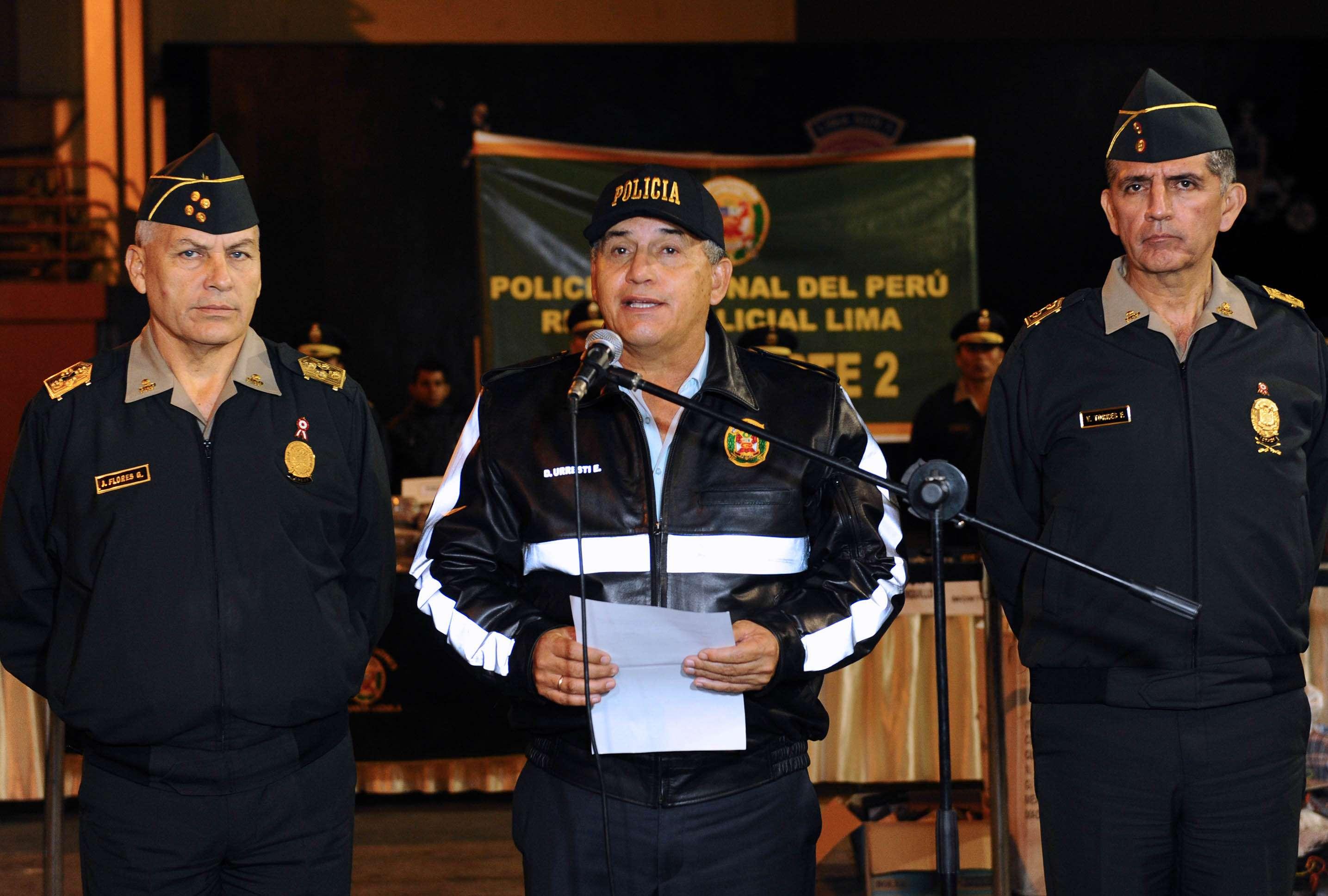 Ministro Daniel Urresti reveló del cargo al alto jefe policial de Chincha Foto: Difusión