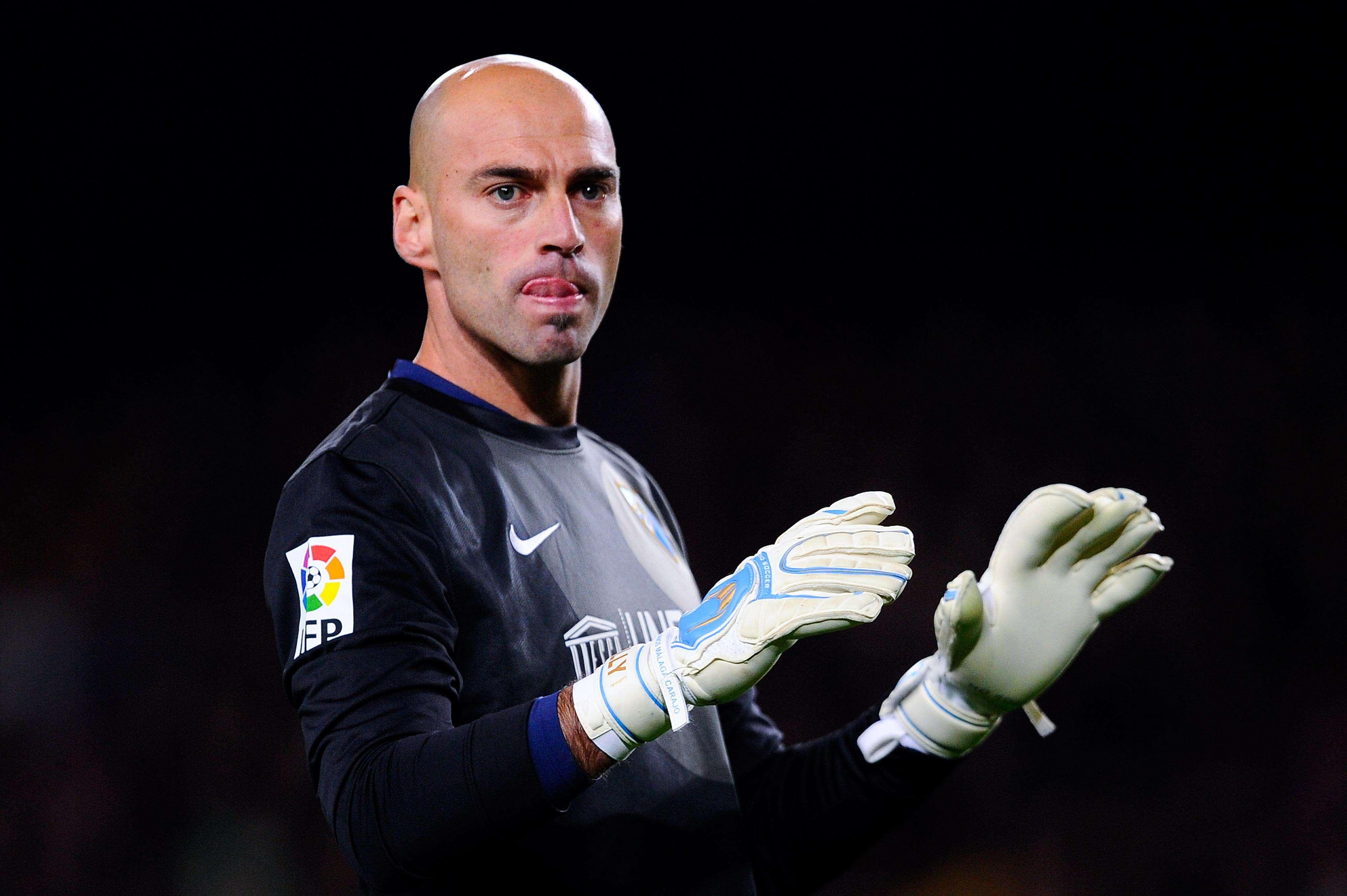 Willy Caballero, portero del Málaga CF Foto: Getty Images