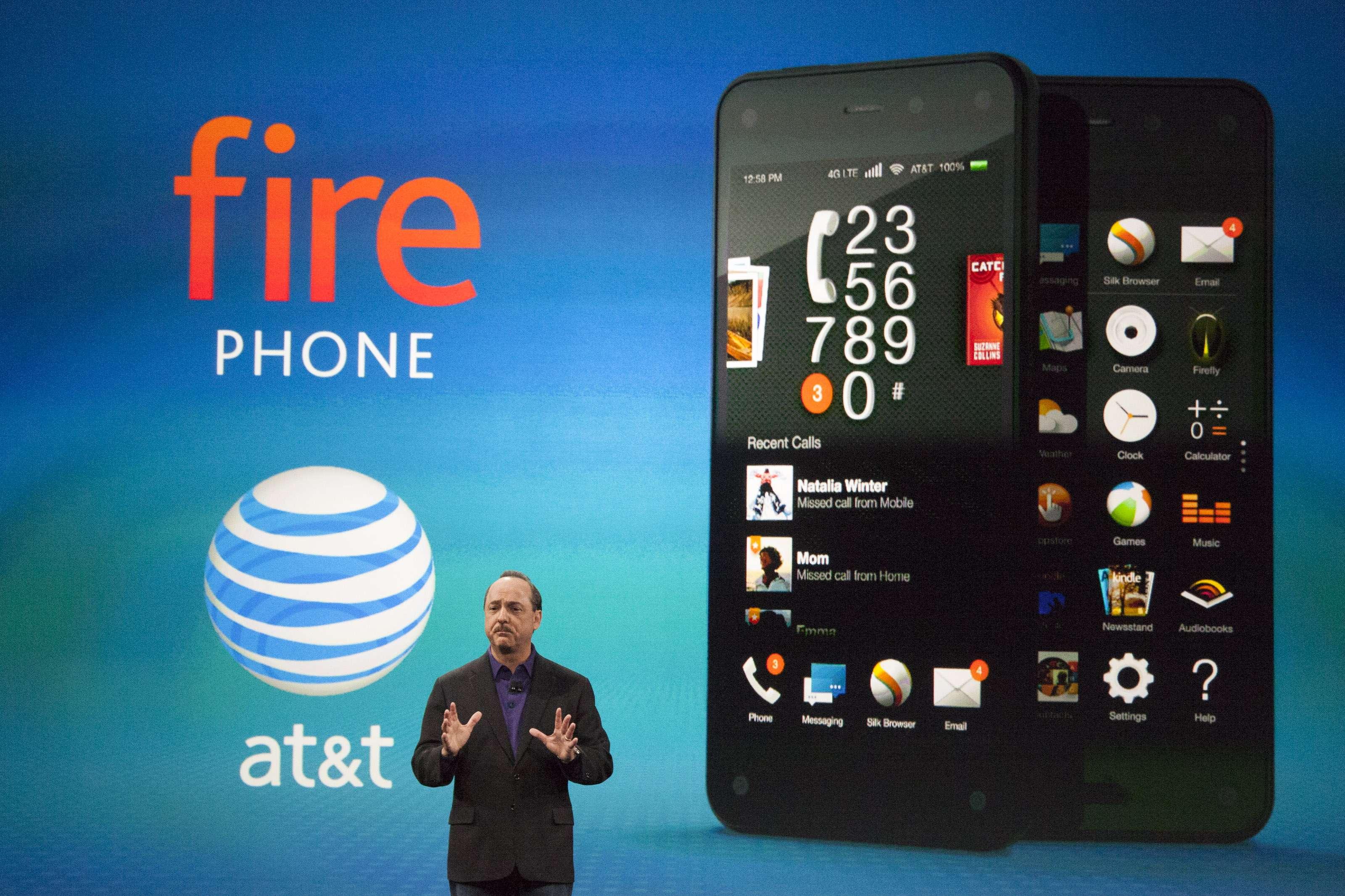 Amazon Fire Phone vendeu apenas 35 mil unidades no 1º mês