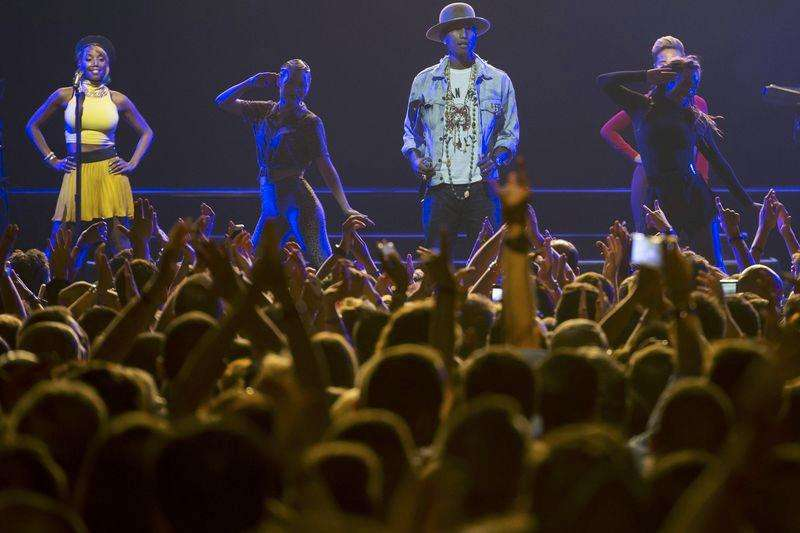 Pharrell leaves Montreux festival fans wanting more