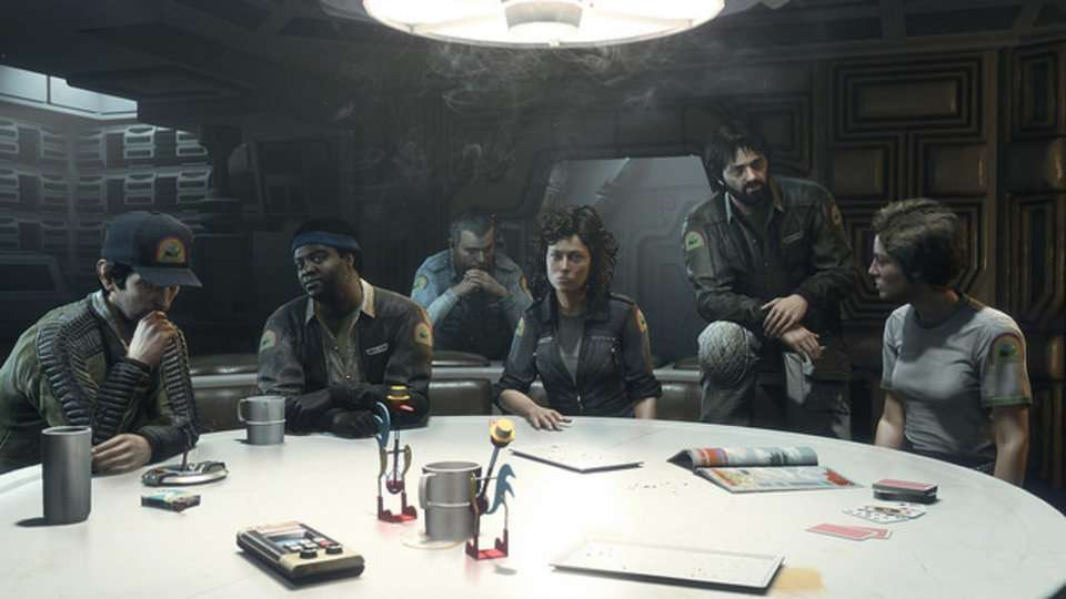 Elenco original se reúne para DLC de Alien: Isolation