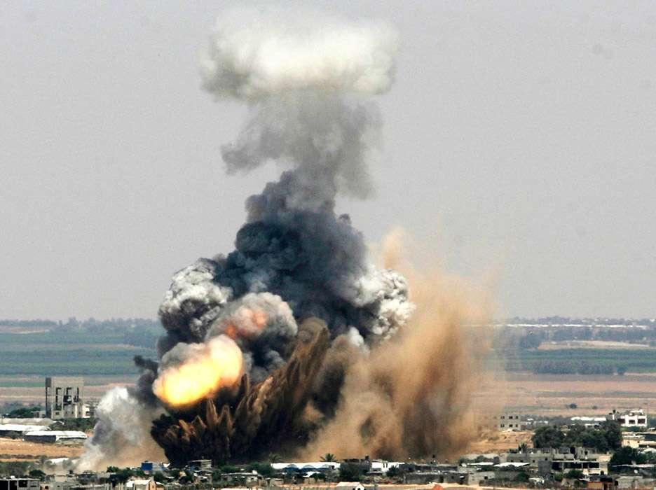 Novos confrontos são registrados na Faixa de Gaza, entre Israel e Palestina Foto: AP