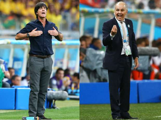 Low vs. Sabella: The World Cup final managers