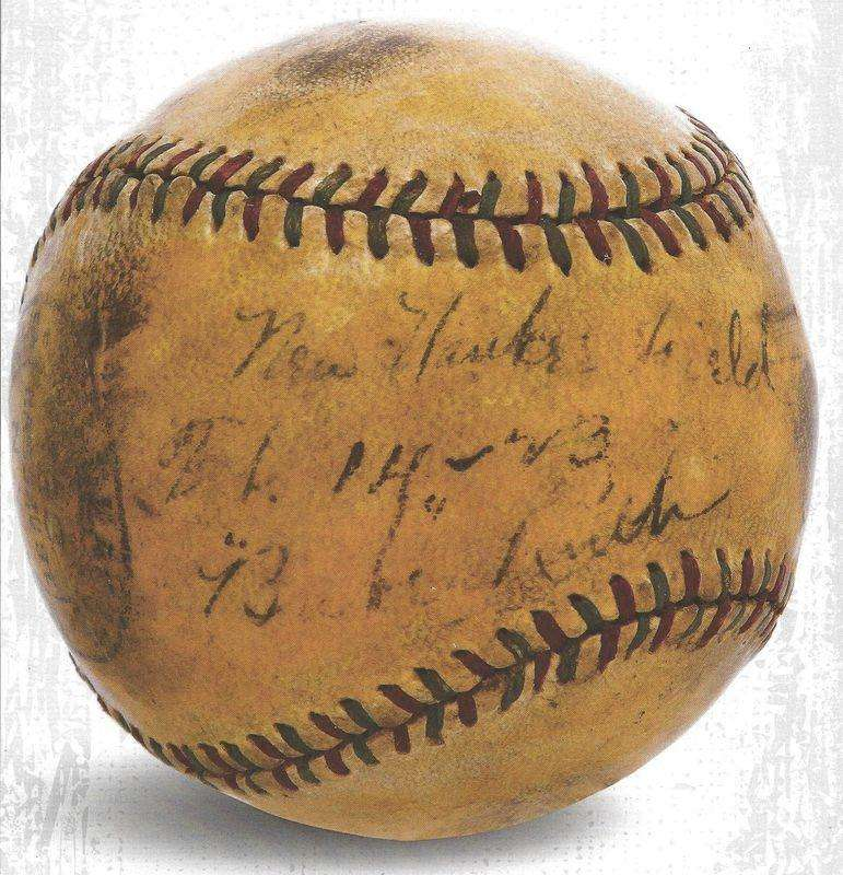 First ball Babe Ruth hit out of Yankee Stadium up for ...