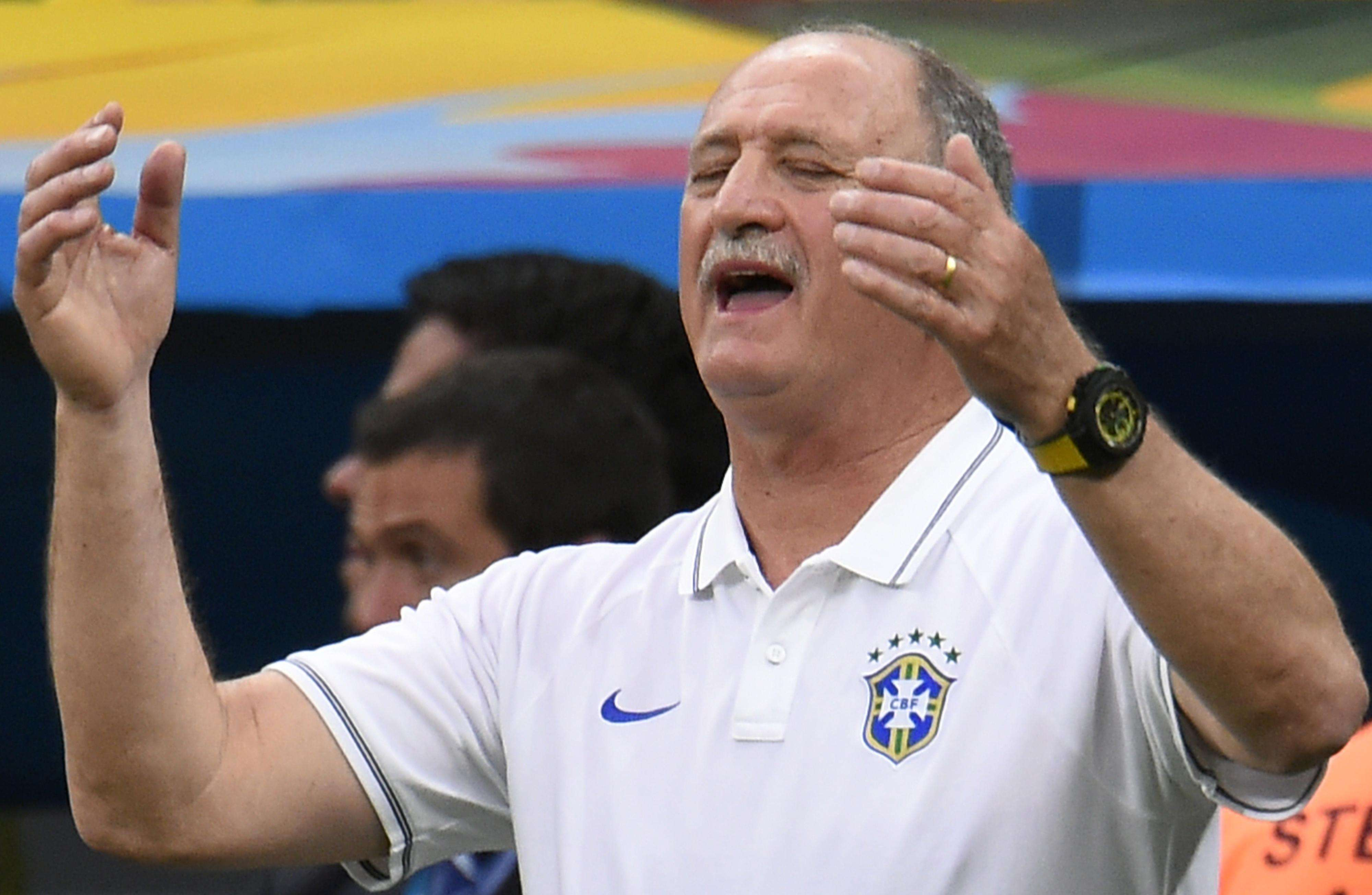 Scolari leaves his future to CBF after Holland loss