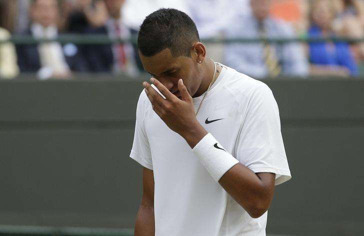 Rising Australian talent Kyrgios splits with coach Rea