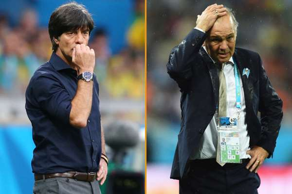 The key duels in Germany-Argentina