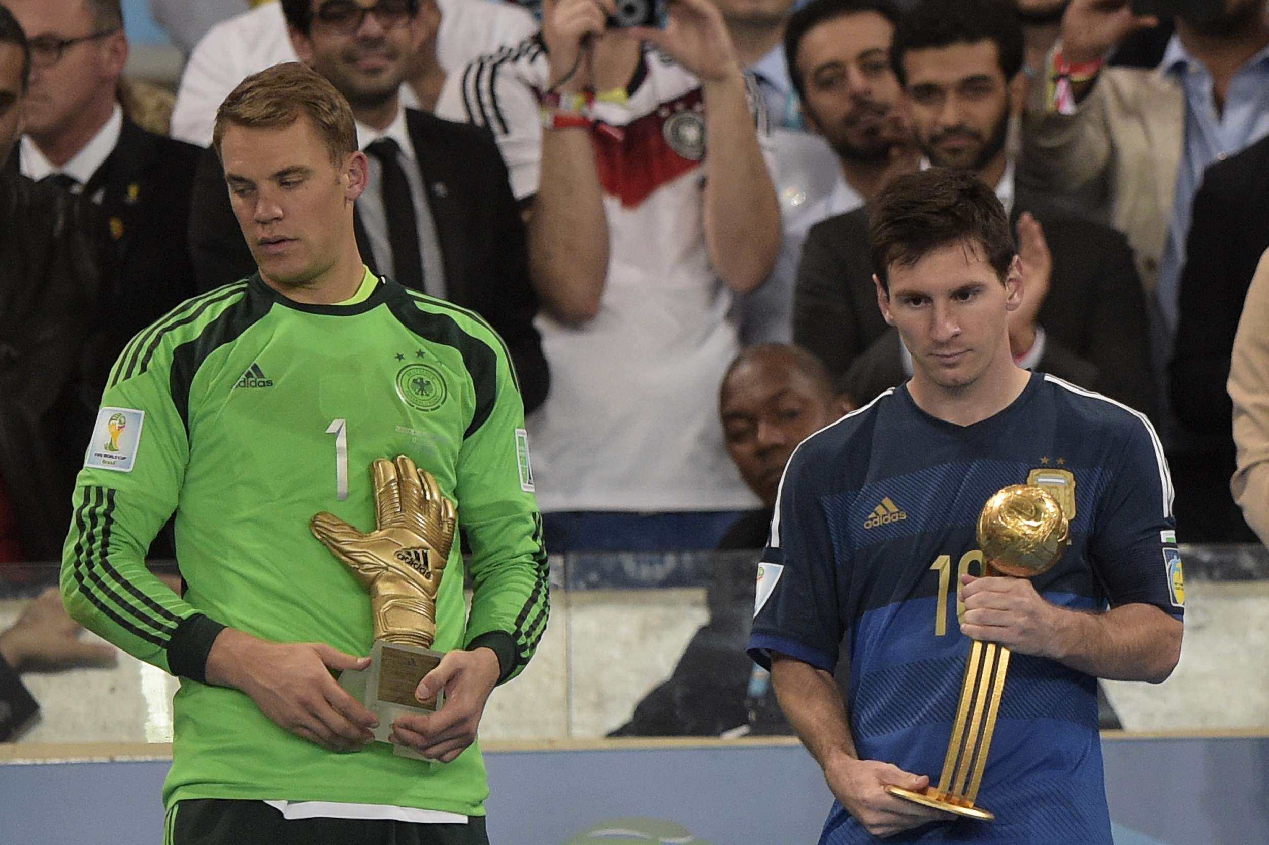 Messi wins the Golden Ball despite final loss