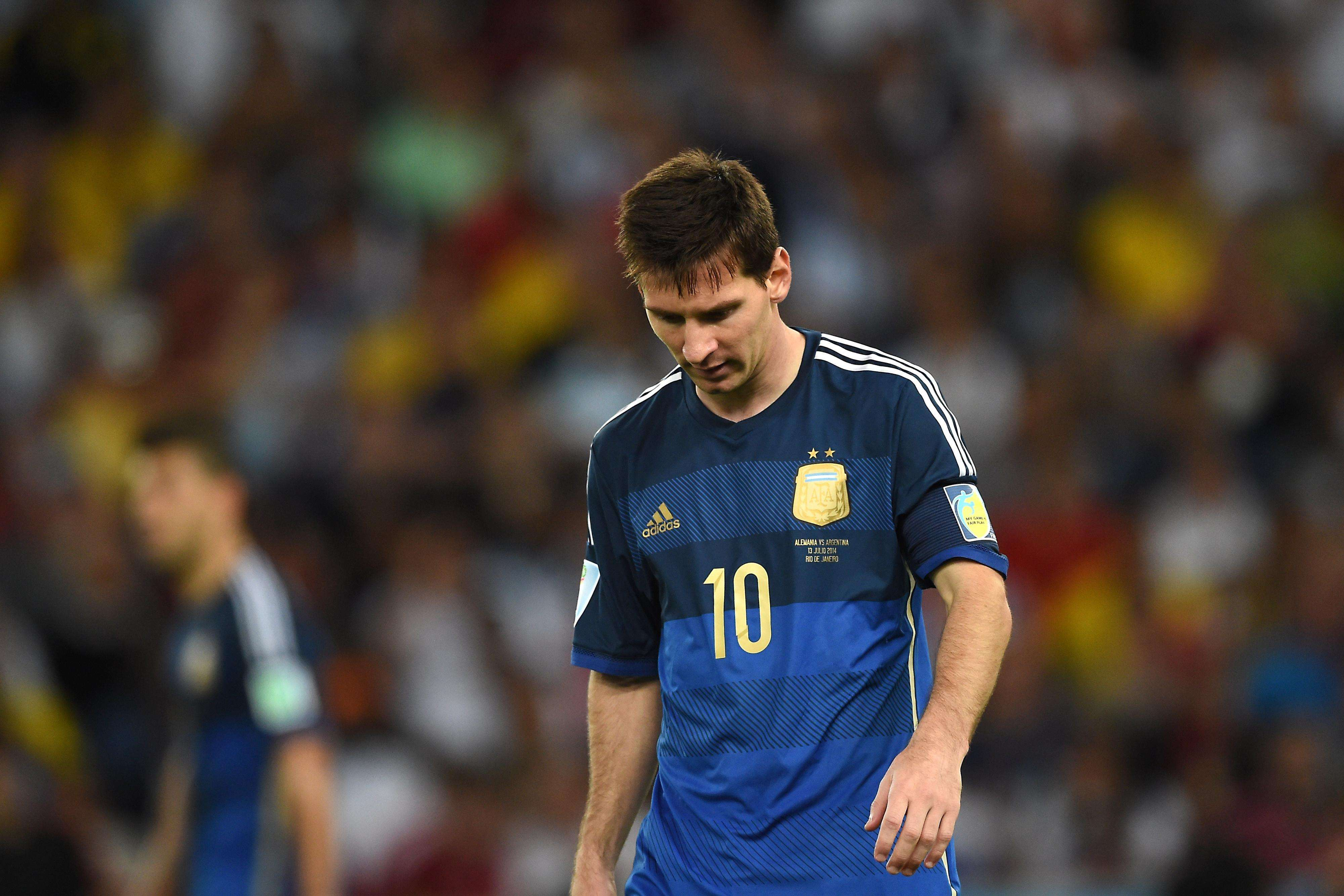 Messi's World Cup ends on bitter note