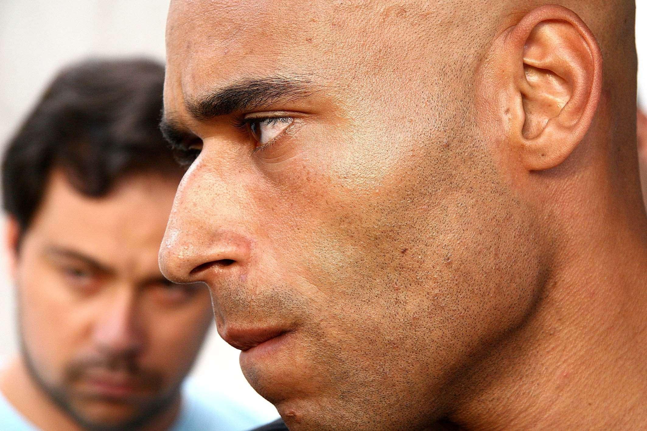 Edinho é ex-goleiro e filho do Pelé Foto: Ricardo Saibun/Gazeta Press