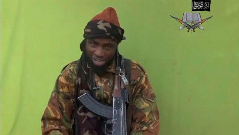 Na foto, o líder da Boko Haram, Abubakar Shekau, falando em um local desconhecido neste vídeo sem data de publicação imagem rebelde nigeriano grupo islâmico Boko Haram by. Foto: Reuters