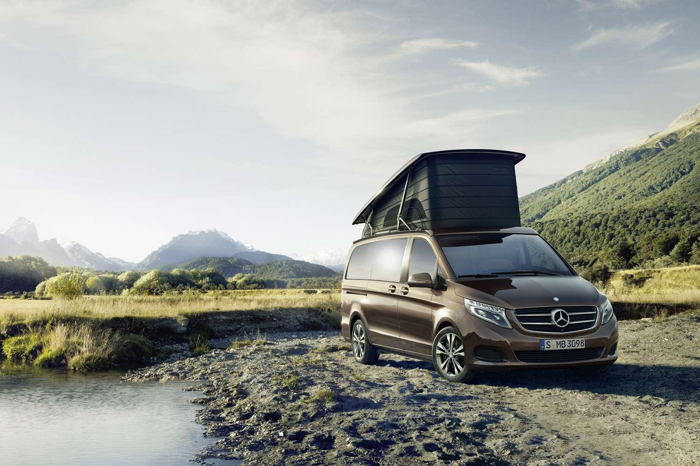 Mercedes-Benz Marco Polo Camper Van Foto: Mercedes-Benz