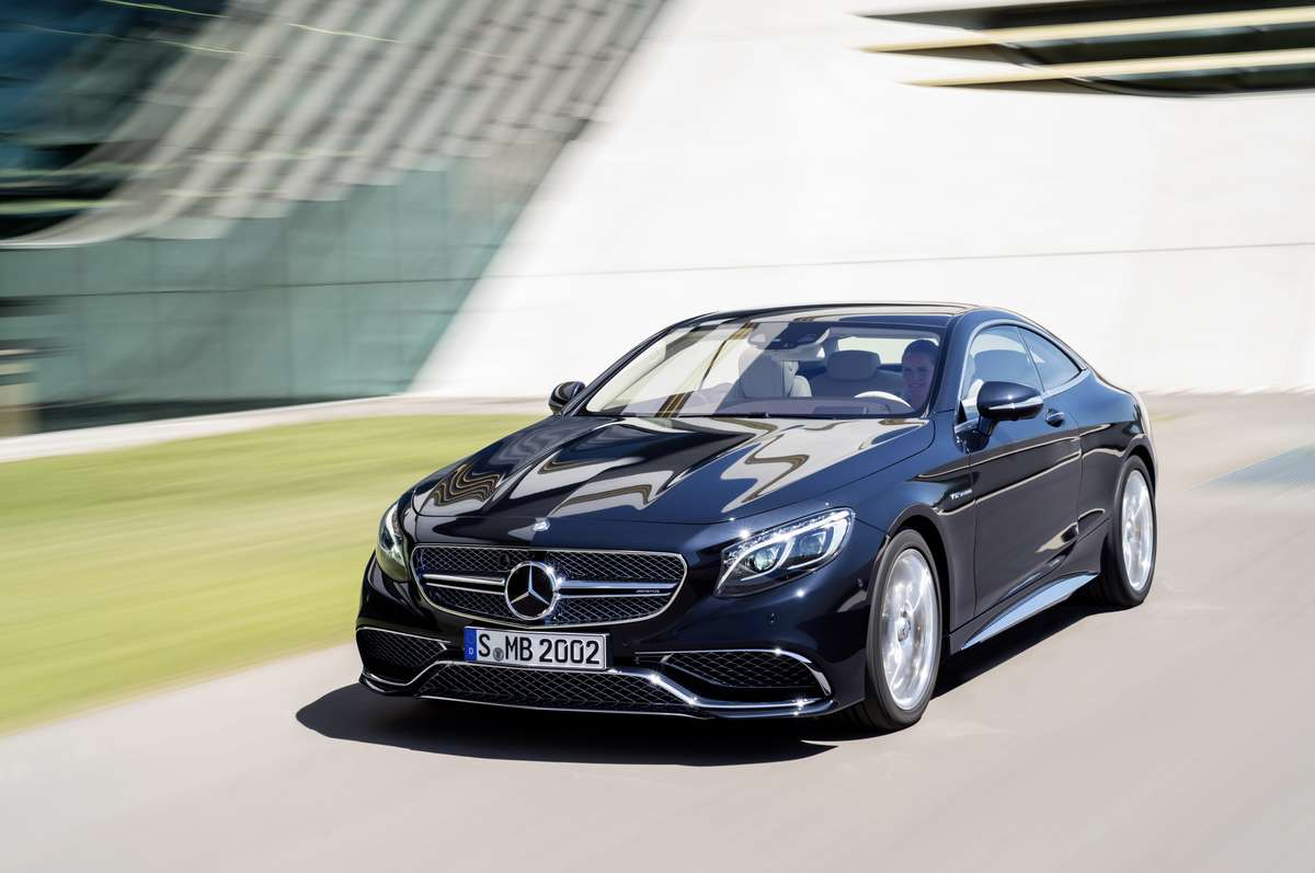 Mercedes-Benz S65 AMG Coupe 2015 Foto: Mercedes-Benz