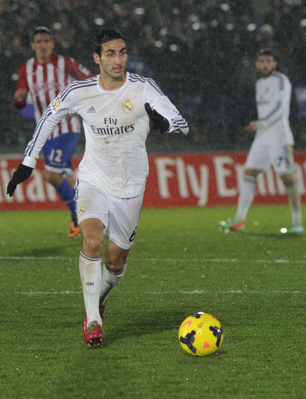 José Rodríguez, con el Real Madrid Castilla. Foto: Getty Images